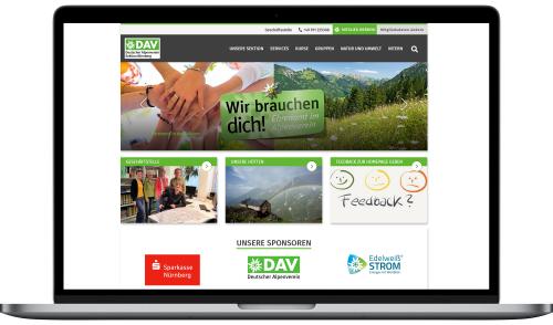 Artikelbild zu Artikel 'Neue Homepage!'