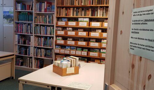 Artikelbild zu Artikel 'Bibliothek wieder geöffnet!'