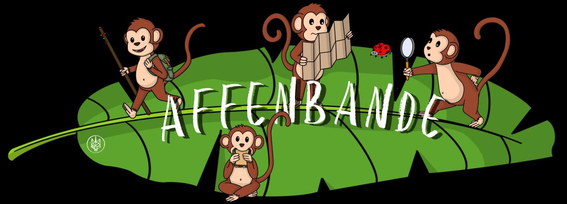 Banner Affenbande