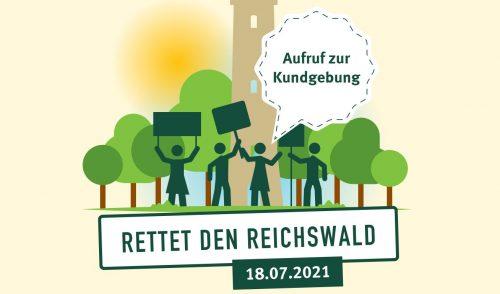 Artikelbild zu Artikel '18. Juli: Aufruf zur Kundgebung am Schmausenbuck: Rettet den Reichswald'